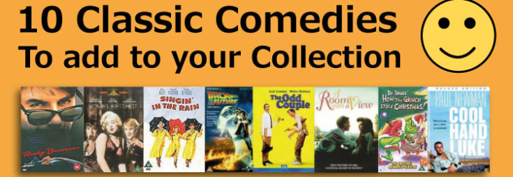 Top 10 Classic Comedies to add to your collection