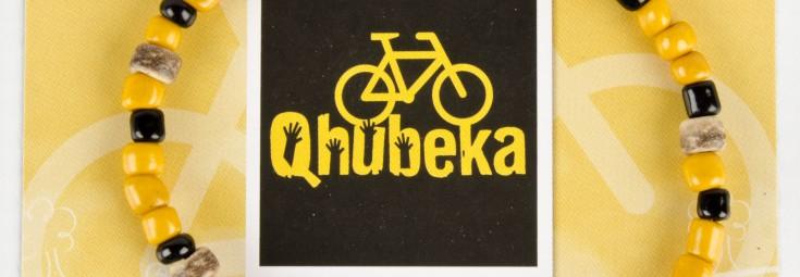 Qhubeka Bracelet Card & Bracelet